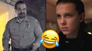 Cry Meme Face - dancing chief hopper just became a meme and it ll make you cry
