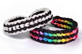 tire track rainbow loom bracelets tutorial