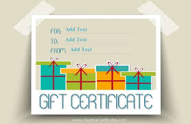 173 free gift certificate templates you can customize