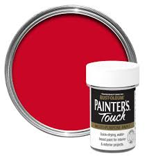 rust oleum painter u0027s touch interior u0026 exterior bright red gloss