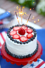birthday cake sparklers sparkler cake for the 4th of july pizzazzerie