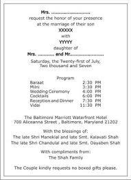 hindu wedding program hindu wedding invitation wordings hindu wedding wordings hindu