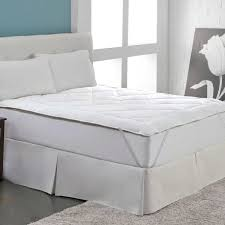 Feather Mattress Topper Review U0026 Reversible Wool Cotton Mattress Topper