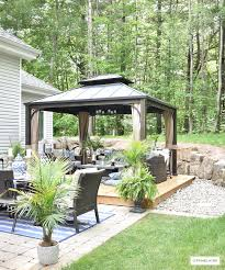 our new backyard patio reveal perfect for entertaining garden