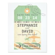 Save The Date Destination Wedding Destination Save The Date Cards