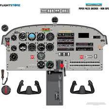 aircraft cockpit training posters flightstore pilot shop