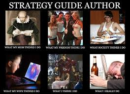 Meme Guide - what a strategy guide author does meme dan birlew