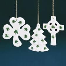club pack of 36 porcelain shamrock covered ornaments 3