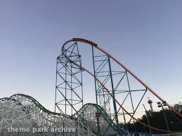 Goliath Six Flags Magic Mountain Goliath At Six Flags Magic Mountain Theme Park Archive