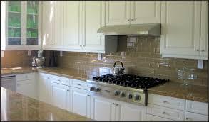 Glass Tile Backsplash With White Cabinets White Glass Tile Backsplash With Dark Cabinets Tiles Home