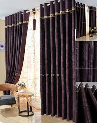 Pics Of Curtains For Living Room by Dark Purple Bedroom Curtains Also Suitable For Living Room