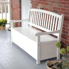 Cushioned Storage Bench Decoration Outdoor Patio Storage Bench Magnus Lind Com