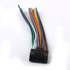 kenwood car stereo head unit replacement wiring harness plug