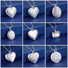 childrens locket childrens silver locket jewellery watches ebay