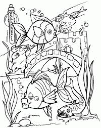 marine coloring pages kids coloring