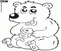 polar animals coloring pages printable games
