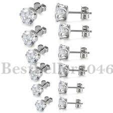 stainless steel stud earrings stainless steel fashion earrings ebay