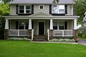 Houses With Porches Front Porch With Stone Pillars Archadeck Outdoor Living