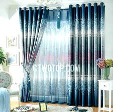 light blue curtains bedroom navy and white blackout curtains navy blue curtains light blue