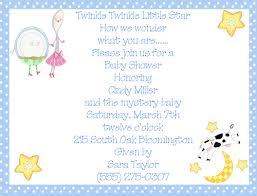 nursery rhyme baby shower rhymes blue boy baby shower invitations