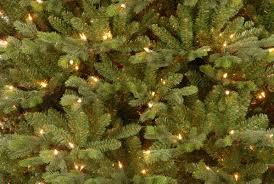 pre lit artificial christmas trees national tree co pre lit 7 5 green yukon fir artificial