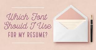 What Font Should Resume Be In Which Font Should I Use For My Resume Creative Market Blog
