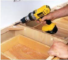 how to attach a countertop to a wall without cabinets how to install wall and floor cabinets