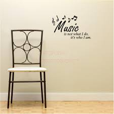 music is not what i do it s who i am wall decal inspirational music is not what i do it s who i am wall decal