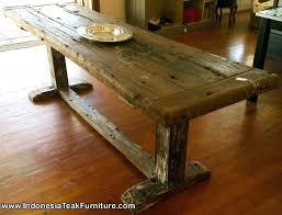 Reclaimed Wood Bar Table Repurposed Wood Furniture Endearing Reclaimed Wood Bar Table With