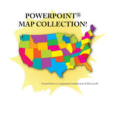 in us map powerpoint map collection usa us states continents counties