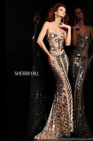 hill prom dresses and sherri hill dresses 2813 at peaches boutique