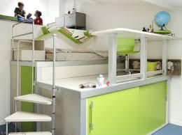 chambre mezzanine fille décoration chambre avec lit mezzanine