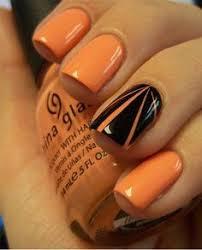 18 pretty orange nail designs orange nail art orange nail and