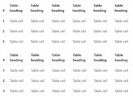 Css Responsive Table by Bootstrap Table Css
