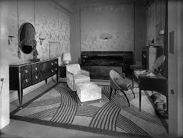 Art Deco Interiors by Pavillon Ruhlmann Expo Universelle 1925 Chambre à Coucher