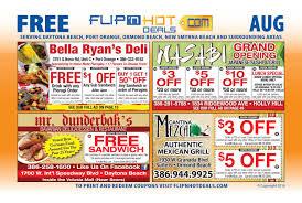 Crazy Buffet West Palm Beach Coupon by Flip U0027nhot Deals Coupon Book August 2016 Daytona Beach Area By