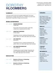 effective resume templates 25 great resume templates for all aol finance