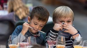 Kids Eating Table Kids Can Now Eat At Michelin Starred Restaurants Sans Parents With
