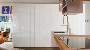 Storage Furniture For Kitchen by Lacquered Wood Storage Cabinet For Kitchen N O W By Daniele