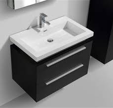 wall mount vessel sink vanity 32 black wall mount modern bathroom vanity with vessel sink