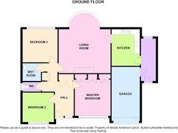 3 bedroom detached bungalow for sale in lime close doveridge de6