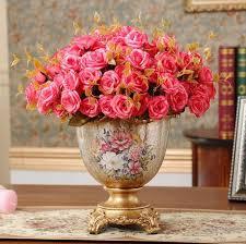 resin vase floral arrangement home furnishing decorative