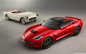 vintage corvette 2014 chevrolet corvette stingray and classic chevy 4k hd