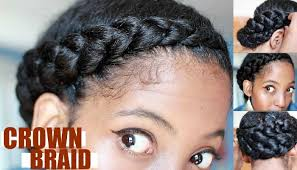 getting fullness on the hair crown beautiful simple crown braid tutorials for all lengths and textures