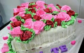 cara membuat hiasan kue ulang tahun anak cara membuat bunga ulang tahun dari butter cream bunga mawar