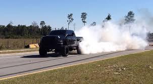 Dodge Ram Cummins Lifted - lifted 2012 dodge ram 2500 6 7l cummins roasts the tires u2013 black