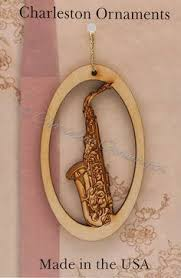 saxophone ornament musician by gustavosgoods