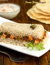 biryani cuisine paneer mutter biryani recipe by tarla dalal tarladalal com 22148