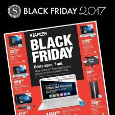staples black friday ad 2017 deals store hours ad scans