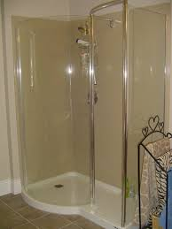 Showers Without Glass Doors Shower Without Doors Cool Walk In Shower Ideas For Small